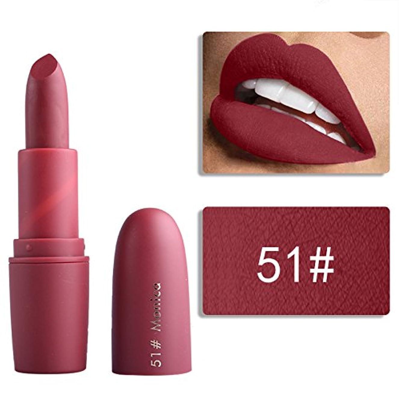 投票脇に編集するMiss Rose Nude Lipstick 22 colors Waterproof Vampire Brown Beauty Baby Lips Batom Matte lipstick Makeup Tats Eugenie Margherita