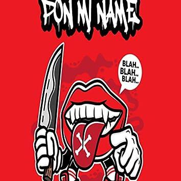 Pon Mi Name