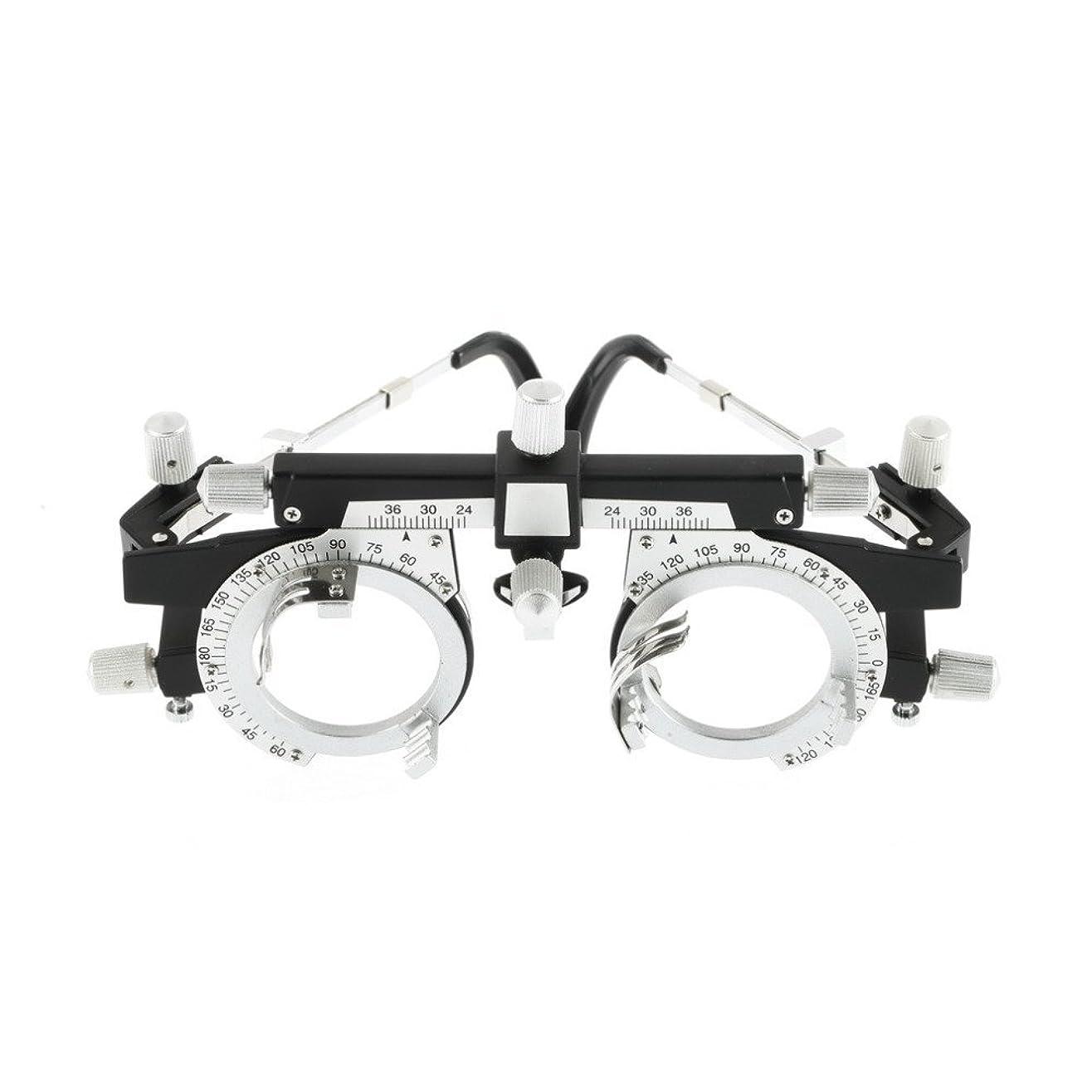 地下室によって会議ワールド ワイド検眼眼鏡店完全に調整可能な トライアル フレーム光学トライアル レンズ フレーム