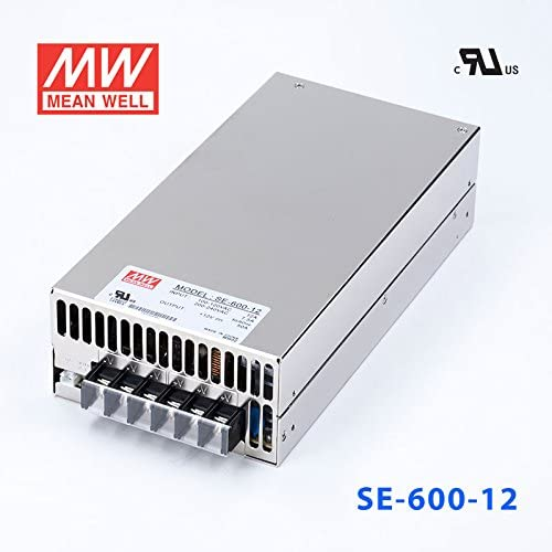 MEAN WELL SE-600-12 Swiching Power Supply 600W 12V 50A Overheating Protection