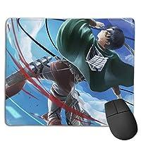 マウスパッド 進撃の巨人 キーボードパッド ゲーミング マウスパッド 3d柄プリント パソコン 周辺機器 防水 滑り止め 耐久性が良い 高級感 えるマウスパッド