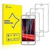 GiiYoon-3 Piezas Protector de Pantalla para iPhone 7/8 Plus Cristal Templado,[Sin Burbujas] [Alta Definicion] [9H Dureza] Vidrio Templado HD Protector Pantalla para iPhone (5.5')