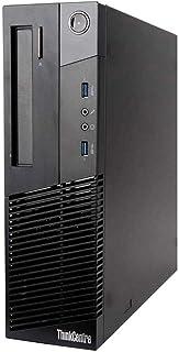 Lenovo Gaming PC ThinkCentre M93p Desktop Computer SFF - Intel Core I7-4770 3.4Ghz - 16GB DDR3 RAM - 1TB SSD, NVIDIA GT 10...