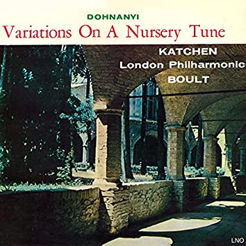 Dohnanyi: Variations On A Nursery Tune, Op 25