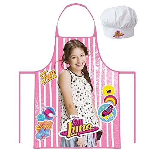 Set regalo cocinera, delantal y gorro cocina de Soy Luna
