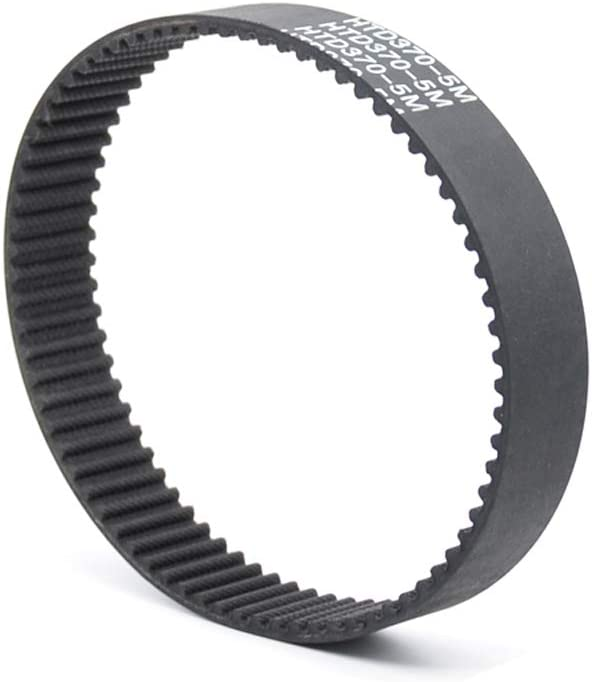 Rubber, D/&D PowerDrive 1130-5M-15 Synchronous Timing Belt Pack of 1