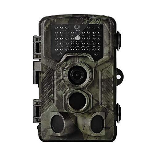 Zhicaikeji Cámara de Seguimiento Digital Impermeable Caza Pista Cámara Infrarrojo Visión Nocturna Monitor CAM Electrónica (Color : Verde, Size : 13.5x9x7.6cm)
