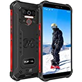 OUKITEL WP5 Pro Rugged Cell Phones, 4GB+64GB Unlocked Smartphone, 8000mAh Battery IP68 Waterproof Rugged Smartphone, Android 10.0 Global Version 4G LTE Dual-SIM 5.5inches Face ID Fingerprint (Black)