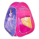 Disney - Tienda de princesas para Niñas Niños Juguetes niños 3 años Tienda Pop Up Casitas infantiles tela con bolsa de transporte Diseño automontable Princesas Disney