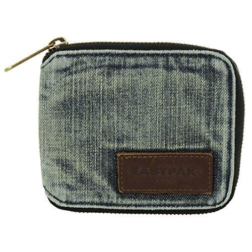 EASTPAK Geldbeutel Geldbörse Portemonnaie U6 Single Jeans Unique EK780716, Farbe:Blau