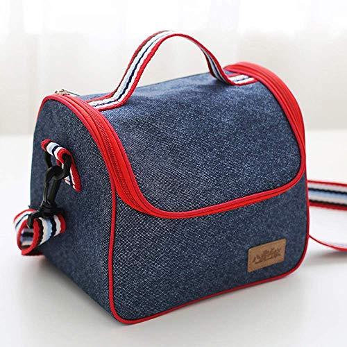YANQIN Bolsa de hielo refrigerada para mantenimiento fresco, bolsa más fresca portátil, bolsa de almuerzo, bolsa de almuerzo de gran capacidad, bolsa de picnic