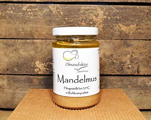Mandelmus – veganer/ vegetarischer Brotaufstrich, natürliches Nussmus kaltgepresst – Inhalt 200g