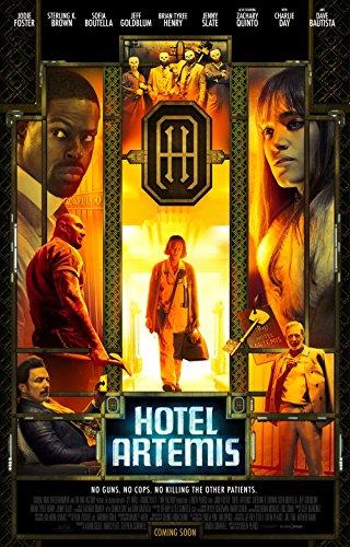 Poster Hotel Artemis Movie 70 X 45 cm