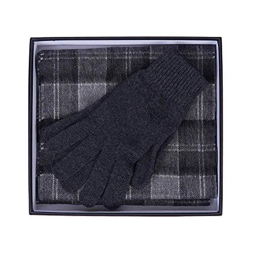 Barbour Bufanda y guantes unisex BACC1131 BK11