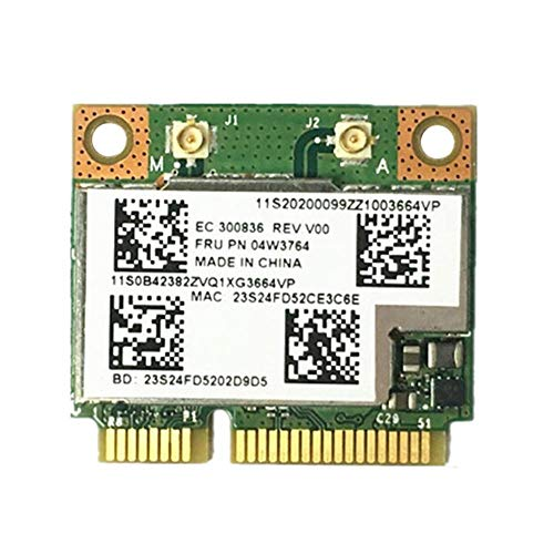 Miwaimao BCM943228HMB 04W3764 WiFi Wireless Bluetooth 4.0 Half Mini PCI-E Card Compact for Lenovo E130 E135 E330 E335 E530 E535 E430