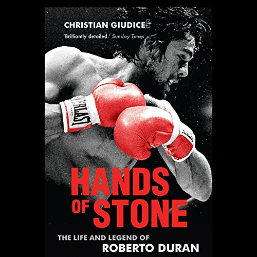 Hands of Stone audiobook cover art