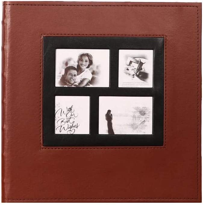 Leather Photo Album Max 43% OFF Interstitial Wedding Mixed Inch New color 5678 Family