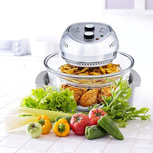 Big Boss Oil-less Air Fryer with Recipe Book