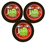 Jake's Mint Chew - Green Apple Pouches- 3 Pack - Tobacco & Nicotine Free!