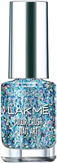 Lakme Color Crush Nail Art T1, Blue, 6 ml