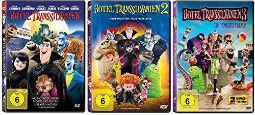 Hotel Transsilvanien Teil 1+2+3 im Set - Deutsche Originalware [3 DVDs]