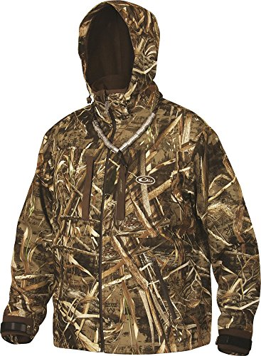 Fantastic Prices! Drake LST Guardian Refuge HS 3-Layer System Coat (Realtree Max-5) (Large)