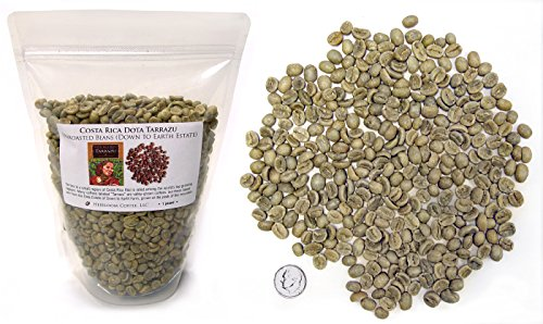 Costa Rica Dota Estate, Green Unroasted Coffee Beans, 1lb