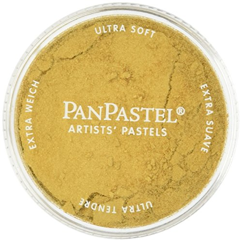 Colorfin PPMTL-29105 PanPastel Ultra Soft Metallic Artist Pastels, 9ml, Light Gold