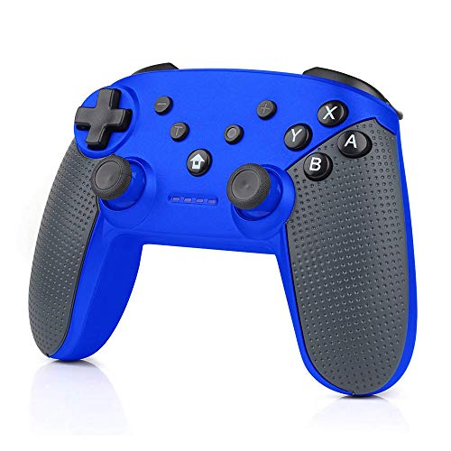 CHENGDAO Wireless Switch Pro Controller High Performance Gamepad for Nintendo Switch Console with Gyro Axis, Turbo and Dual Vibration - Blue