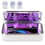 IFLOVE UV-C LED Sterilisator Box für Handy Desinfektionsmittel UV Licht Reiniger mit 8 LEDs für...