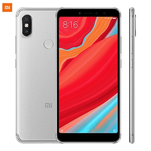 Xiaomi Redmi S2, Smartphone from 5,99 inch, Octa Core, 32 GB ROM, 3 GB RAM, 12 MP Camera, Dual SIM, Gray