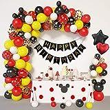 Amandir Cartoon Mouse Birthday Balloons Arch...