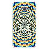 Ooh.Color 025609_ mab024Magia con patrón Suave de Silicona TPU Bumper para Samsung Galaxy A3A300Transparente