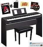 Best Digital Pianos - Yamaha P-45 Digital Piano Bundle with Yamaha L-85 Review