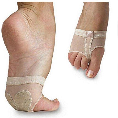 NNIUK Ballett Tanz Foot Thongs Mittelfuß Pads für Berufsbauch- / Balletttänzer