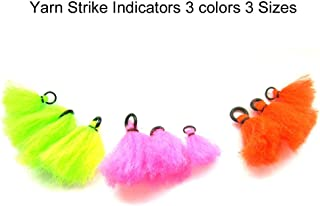 Riverruns Yarn Strike Indicators 3 Colors 3 Sizes Hand Tied Floating Fly Fishing Nymphs & Dry Fly