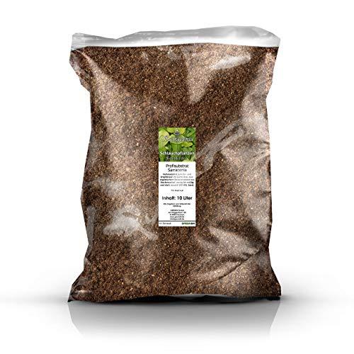 GREEN24 10 Ltr. Sarracenia-Erde Substrat für Schlauchpflanzen Grubenfallen - Profi Linie Substrat Karnivoren