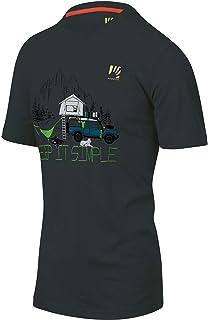 Karpos t-Shirt Uomo GENZIANELLA T-Shirt Men Grigio PE21