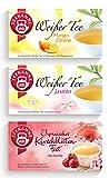 Teekanne Weißer Tee 3er Set - Mango-Zitrone, Jasmin-Tee, Japanisches Kirschblütenfest (80g)