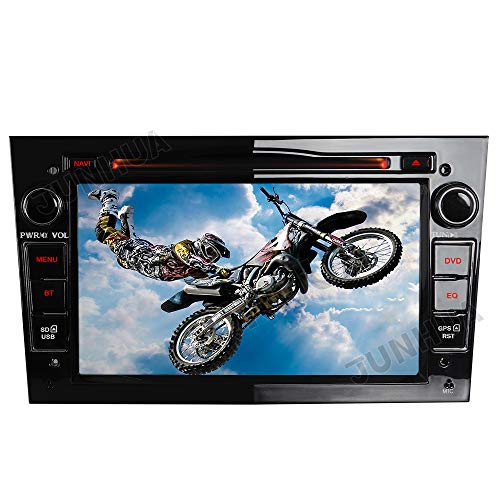 2-DIN DVD GPS Autoradio mit Navi für Opel Astra Corsa Zafira Meriva Vivaro Vectra Antara,7 Zoll Touchscreen Radio unterstützt Mirrorlink Lenkrad Bedienung USB SD RDS Bluetooth (Schwarz)