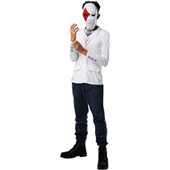 Rubies´s- Official Fortnite Wild Card Costume Kit-Top & Mask ...