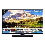 """Hitachi 32HB4T62 - Téléviseur LED Full HD 32"""" (81 cm) 16/9-1920 x 1080 Pixels - TNT et Câble HD - HDTV 1080p - Bluetooth - Wi-Fi - 600 Hz (Catégorie : Téléviseur LCD, LED et Plasma)"""