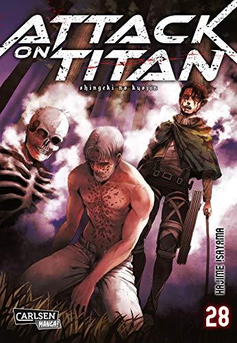 Attack on Titan 28: Atemberaubende Fantasy-Action im Kampf gegen grauenhafte Titanen