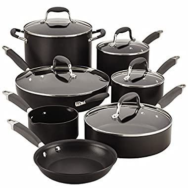 Anolon Advanced 12-pc. Hard-Anodized Nonstick Cookware Set Grey