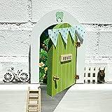 Puerta Ratoncito Perez que SE ABRE!! de madera (taller artesanal) con...