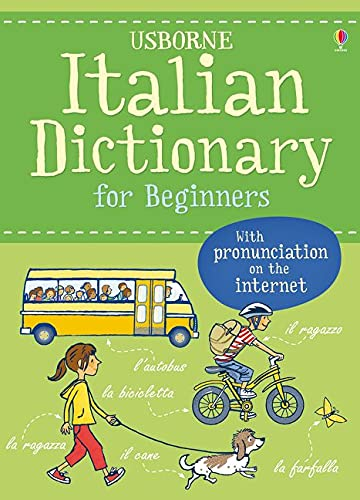 Italian Dictionary for Beginners (Language for Beginners Dictionary): 1