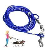 SANTOO 5M Cable para Atar Perros, Cuerda de Seguridad Cabezas Dobles...