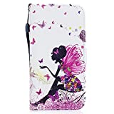 ocketcase Coque Wiko U Feel, Etui Housse en PU Cuir Portefeuille Case Cover Support...