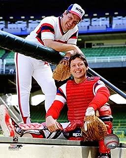 Tom Seaver and Carlton Fisk Chicago White Sox MLB Posed Photo (Size: 8