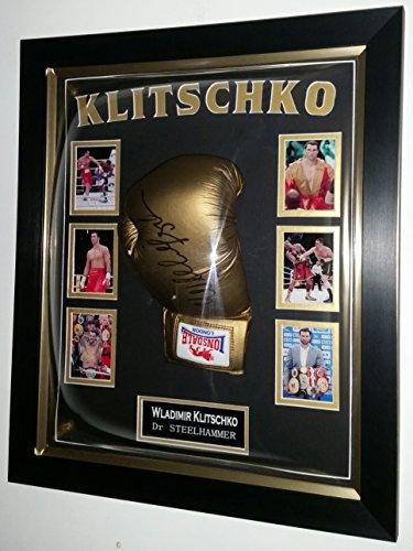 Rare Wladimir Klitschko Signiert Handschuh * AFTAL Fachhändler *
